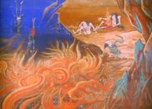 仏画10_焦熱地獄